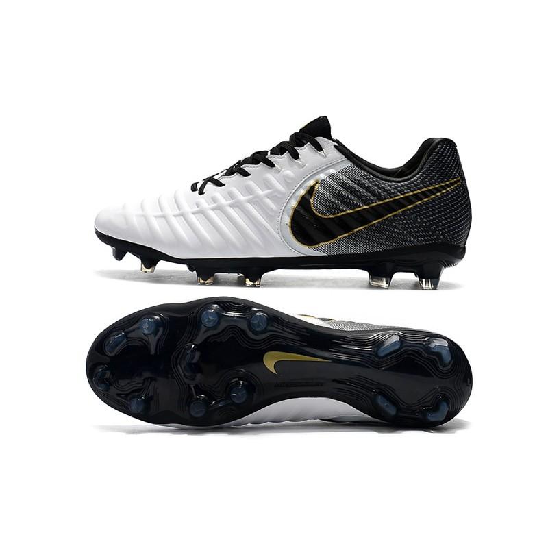 Nike Legend Bianca Fg Nero Tiempo Scarpa Calcio Oro Elite Da Vii bf7gvyY6
