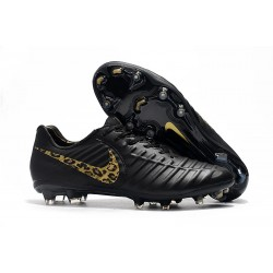 Nike Tiempo Legend VII Elite FG Scarpa da Calcio - Nero Safari