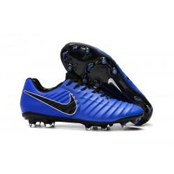 Nike Tiempo Legend VII Elite FG Scarpa da Calcio - Blu Nero