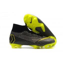 Nike Mercurial Superfly 6 Elite ACC FG Scarpa Uomo - Nero Giallo