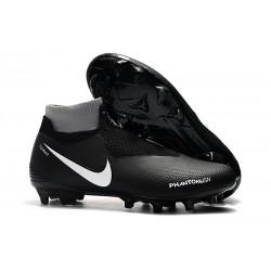 Nike Phantom VSN DF FG Scarpa Calcio - Nero Rosso Bianca