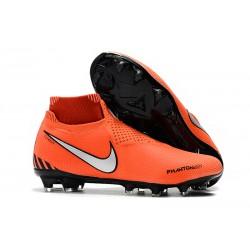 Nike Phantom VSN DF FG Scarpa Calcio - Arancio Nero Argento
