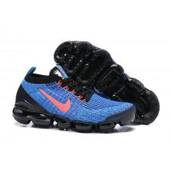 Nike Air VaporMax 2019 Flyknit Sneakers Basse - Blu Rosso