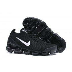 Nike Air VaporMax 2019 Flyknit Sneakers Basse - Nero Bianco