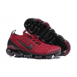 Nike Air VaporMax 2019 Flyknit Sneakers Basse - Rosso Nero
