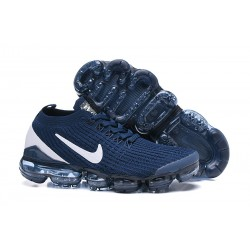 Nike Air VaporMax 2019 Flyknit Sneakers Basse - Blu Bianco