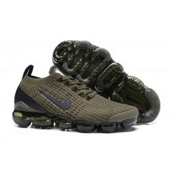 Nike Air VaporMax 2019 Flyknit Sneakers Basse - Oliva Verde