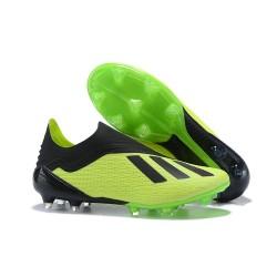 adidas X 18+ FG Scarpe Calcio - Verde Nero