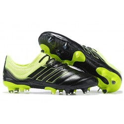 Scarpe da Calcio Adidas Copa 19.1 FG - Nero Verde