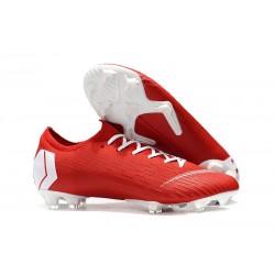 Nike Mercurial Vapor XII 360 Elite FG Uomo Scarpe - Rosso Bianco