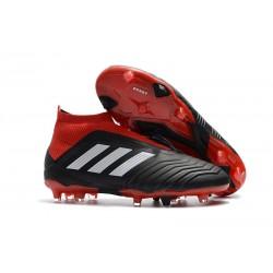 Scarpe da Calcio Nuova adidas Predator 18+ FG - Nero Rosso