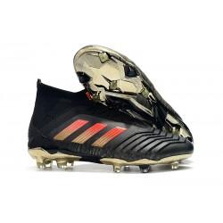 Adidas Scarpe da Calcio Predator 18.1 FG Nero Rosso