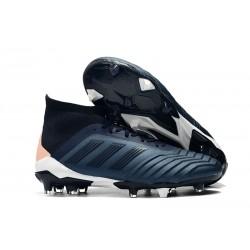 Adidas Scarpe da Calcio Predator 18.1 FG Ciana Nero