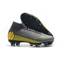 Nike Mercurial Superfly 360 Elite SG-Pro Anti-Clog Grigio Giallo