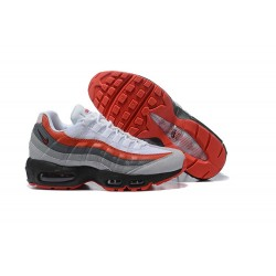 Sneakers Nike Air Max 95 Essential Bianco Rosso Nero