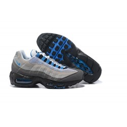 Sneakers Basse da Uomo Nike Air Max 95 Premium - Grigio Nero