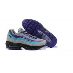 Sneakers Basse da Uomo Nike Air Max 95 OG Grigio Viola Blu