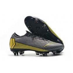 Nike Mercurial Vapor 12 SG Pro AC Scarpa Uomo - Grigio Giallo