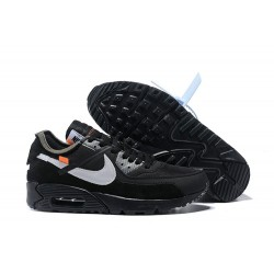 Sneakers Basse Nike Air Max 90 Nero Bianco