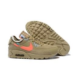 Sneakers Basse Nike Air Max 90 Verde Arancio