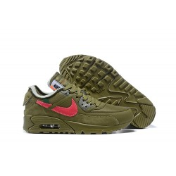 Sneakers Basse Off White x Nike Air Max 90 Verde Rosso