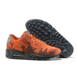 Sneakers Basse Off White x Nike Air Max 90 Mars Landing Arancio Nero