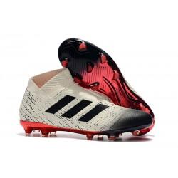 Nuove Scarpe da Calcio Adidas Nemeziz 18+ FG - Bianco Nero Rosso