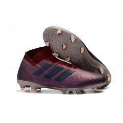 Nuove Scarpe da Calcio Adidas Nemeziz 18+ FG - Viola Rosso