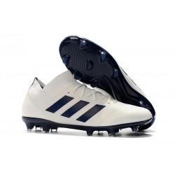adidas Messi Nemeziz 18.1 FG - Bianco Nero