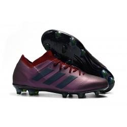 adidas Messi Nemeziz 18.1 FG - Viola Nero