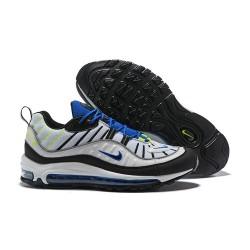 Nike Air Max 98 Sneakers Basse da Uomo - Nero Bianco Blu
