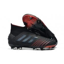 adidas Predator 19+ FG Archetic Scarpe da Calcio Uomo - Nero Rosso