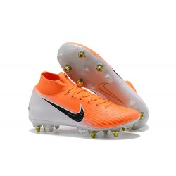 Nike Mercurial Superfly 360 Elite SG-Pro Anti-Clog Arancio Bianco