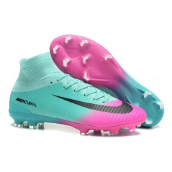 Nike Mercurial Superfly V DF CR7 FG Scarpe Calcio - Blu Rosa