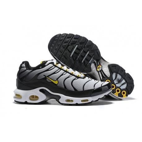 Nike Air Max Plus Sneakers Basse da Uomo - Nero Blanco Amarillo