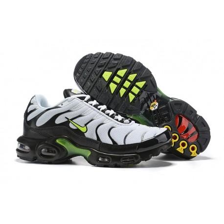Nike Air Max Plus Sneakers Basse da Uomo - Bianco Nero Verde