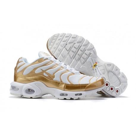 Nike Air Max Plus Sneakers Basse da Uomo - Bianco Or