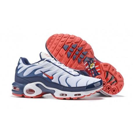Nike Air Max Plus Sneakers Basse da Uomo - Bianco Blu Rosso