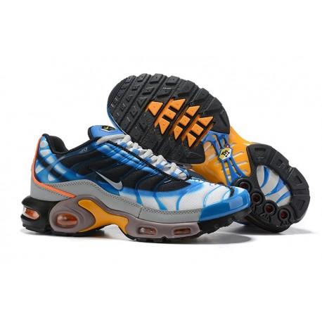 Nike Air Max Plus Sneakers Basse da Uomo - Bianco Blu Grigio