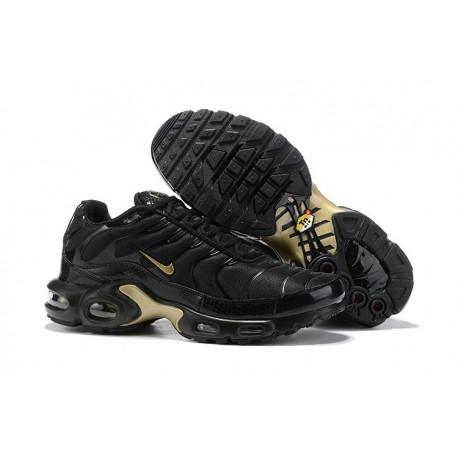 Nuovo Scarpe Nike Air Max Plus - Nero Oro