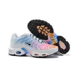 Nike Air Max Plus Para Donna Rosa Blu Bianco