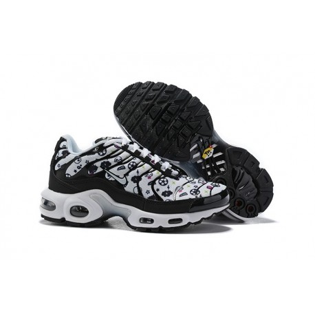 Nike Air Max Plus Para Donna Nero Bianco