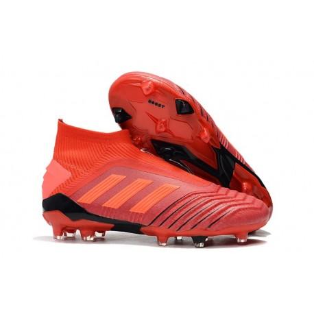 adidas Predator 19+ FG Scarpe da Calcio Uomo - Rosso