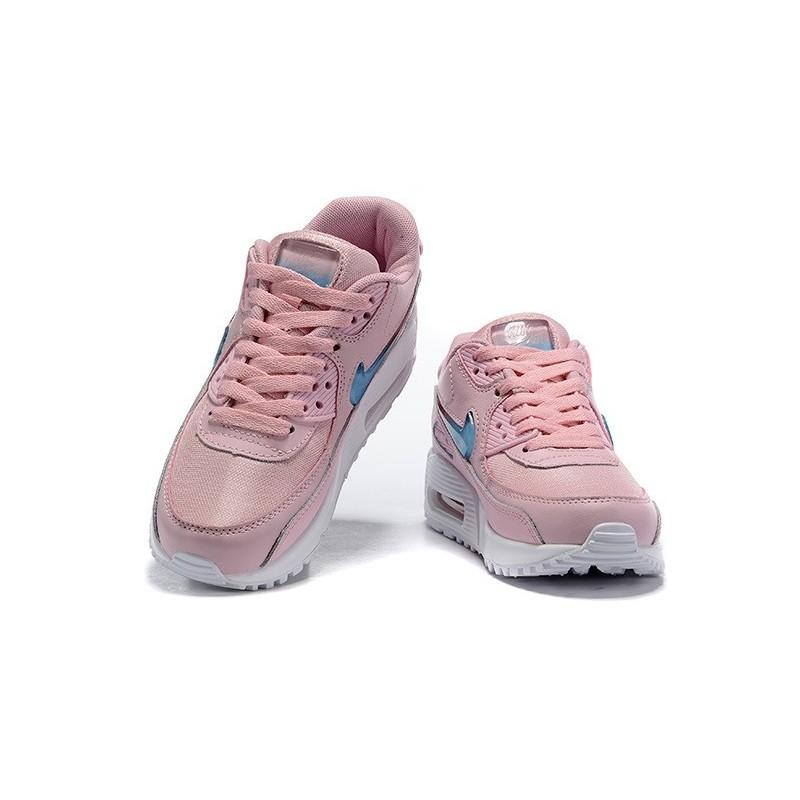 Zapatillas Nuovo Nike Air Max 90 Mujer Rosa Blu
