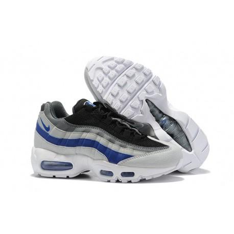 Nike Air Max 95 Sneakers Basse da Uomo Grigio Nero Blu