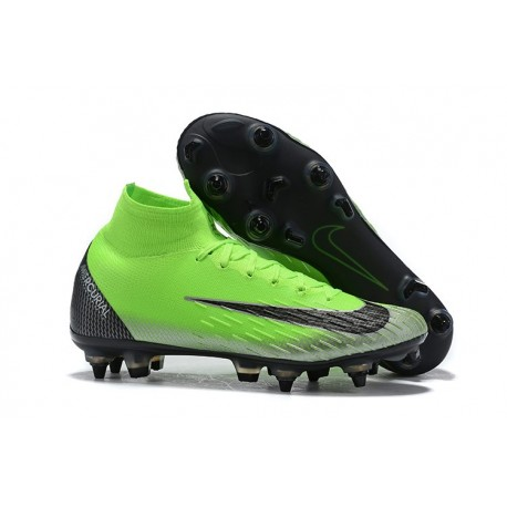 Nike Mercurial Superfly 360 Elite SG-Pro Anti-Clog Verde Nero