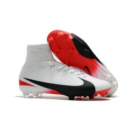 Scarpa Nike Mercurial Superfly 5 Dynamic Fit FG - Bianco Nero