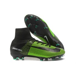 Scarpa Nike Mercurial Superfly 5 Dynamic Fit FG - Verde Nero
