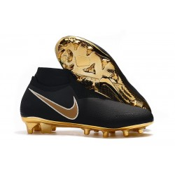 Nike Phantom VSN DF FG Scarpa Calcio - Nero Oro
