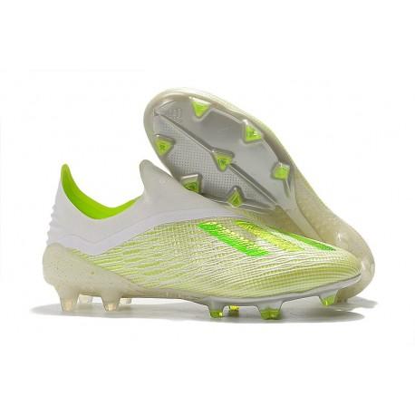 adidas X 18+ FG Scarpe Calcio - Bianco Verde